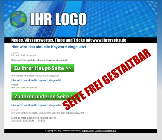 Affiliate Marketing Website Beispiel